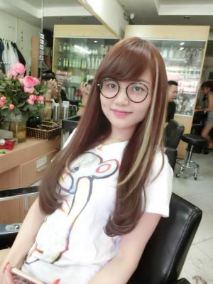Tóc dài light trắng