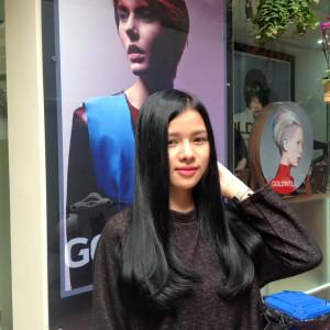Tóc đen dài