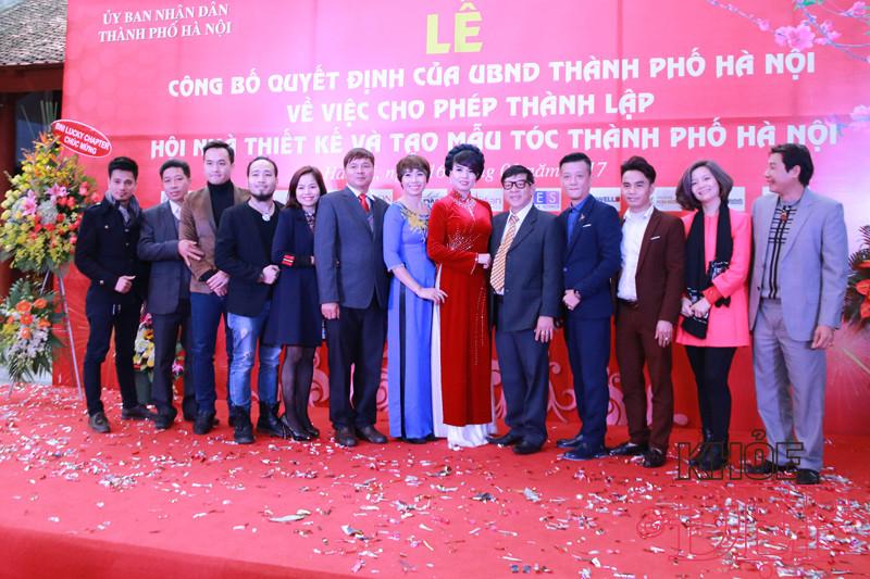 Ra mắt Hội Nhà thiết kế và Tạo mẫu tóc Hà Nội 10
