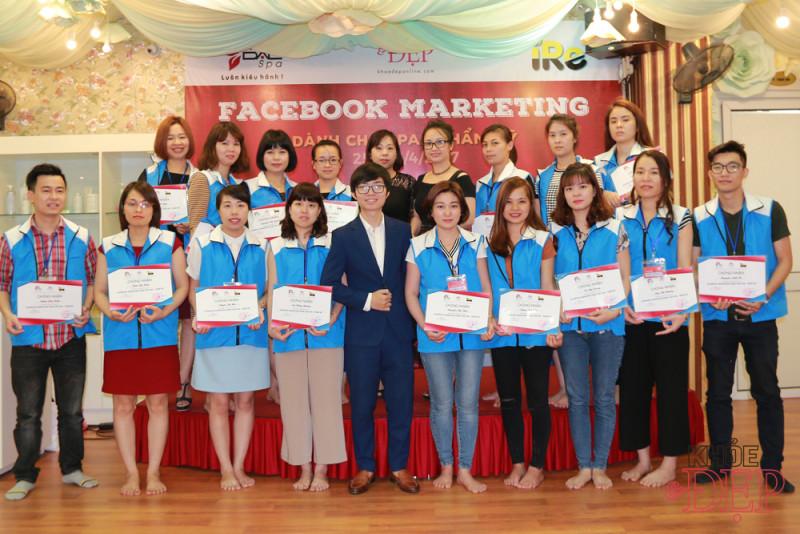 Facebook Marketing dành cho Spa-Thẩm mỹ tại DALSpa 1