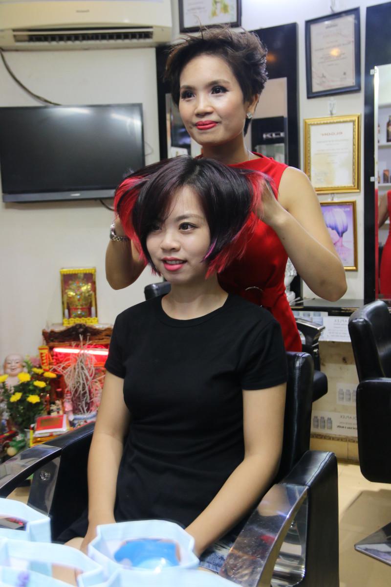 Những mẫu tóc công sở khiến các nàng mê mẩn tại Phương Nhung hair salon - 56 Ngõ Thông Phong, HN 10