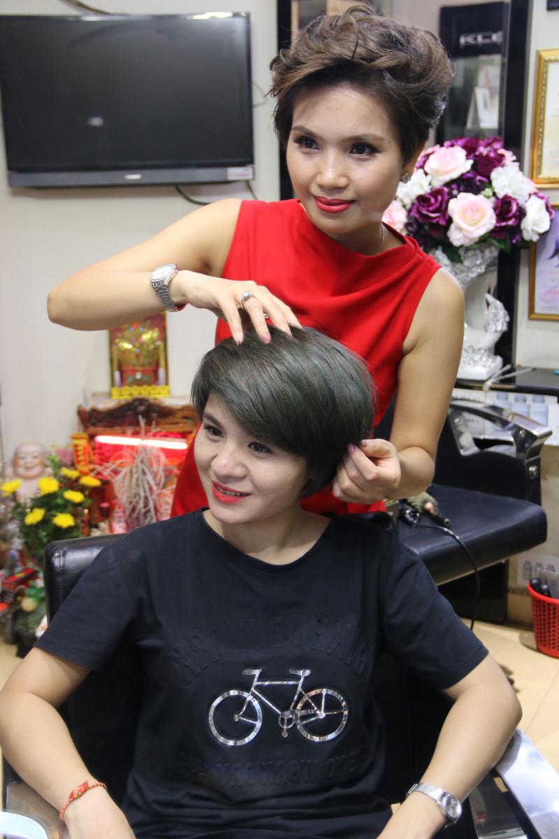 Những mẫu tóc công sở khiến các nàng mê mẩn tại Phương Nhung hair salon - 56 Ngõ Thông Phong, HN 13