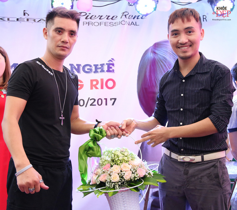 Tưng bừng kỷ niệm 10 năm làm nghề của NTMT Dương Bùi, 10 năm thành lập Dương Rio hair salon 8