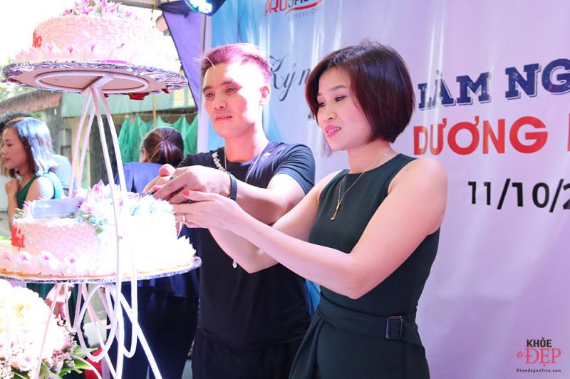 Tưng bừng kỷ niệm 10 năm làm nghề của NTMT Dương Bùi, 10 năm thành lập Dương Rio hair salon 6