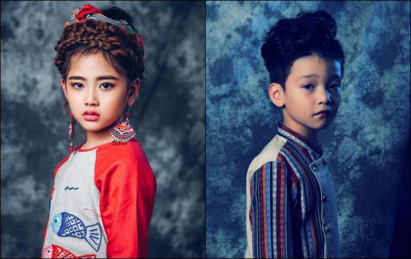 """""""Công chúa thời trang"""" xuất hiện cùng """"Thầy giáo mưa"""" tại tuần lễ thời trang  trẻ em Việt Nam  Viet Nam Junior's Fashion Week 2017 0"""
