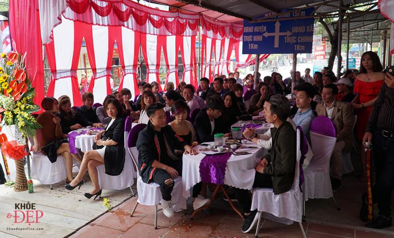 Tưng bừng khai trương hair salon Thiên Trường - 190 Hữu Nghị, thị trấn Cổ Lễ. 14