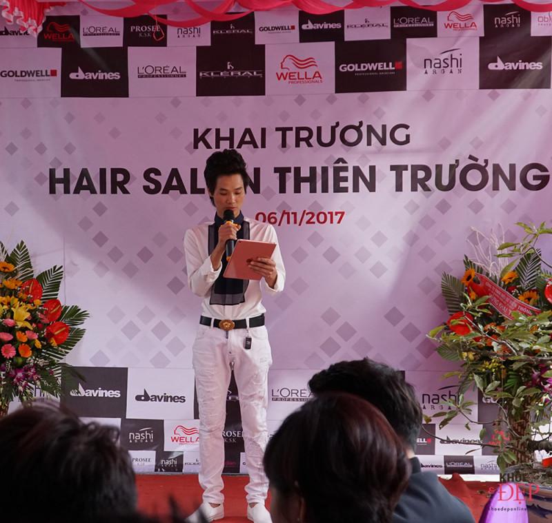 Tưng bừng khai trương hair salon Thiên Trường - 190 Hữu Nghị, thị trấn Cổ Lễ. 15