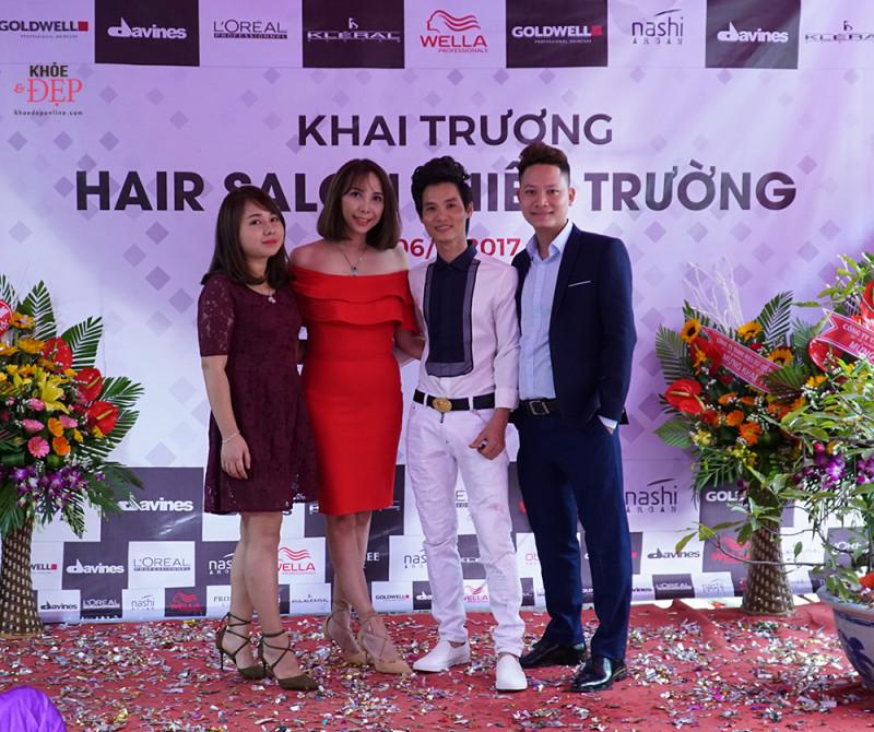 Tưng bừng khai trương hair salon Thiên Trường - 190 Hữu Nghị, thị trấn Cổ Lễ. 3