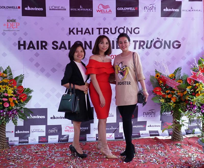 Tưng bừng khai trương hair salon Thiên Trường - 190 Hữu Nghị, thị trấn Cổ Lễ. 2