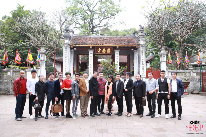Họp mặt đầu xuân Liên hiệp các CLB ngành tóc Việt Nam và Hội nhà thiết kế, tạo mẫu tóc Hà Nội 23