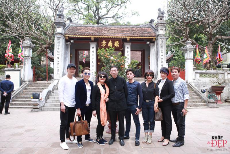 Họp mặt đầu xuân Liên hiệp các CLB ngành tóc Việt Nam và Hội nhà thiết kế, tạo mẫu tóc Hà Nội 21