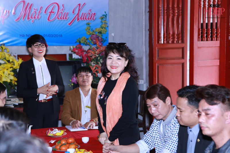 Họp mặt đầu xuân Liên hiệp các CLB ngành tóc Việt Nam và Hội nhà thiết kế, tạo mẫu tóc Hà Nội 18
