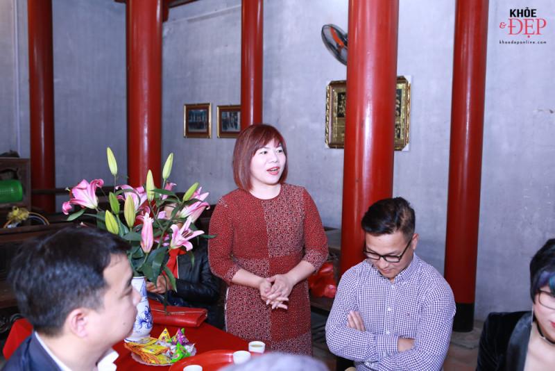 Họp mặt đầu xuân Liên hiệp các CLB ngành tóc Việt Nam và Hội nhà thiết kế, tạo mẫu tóc Hà Nội 13