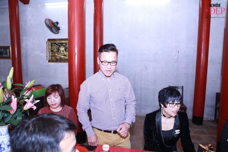 Họp mặt đầu xuân Liên hiệp các CLB ngành tóc Việt Nam và Hội nhà thiết kế, tạo mẫu tóc Hà Nội 12