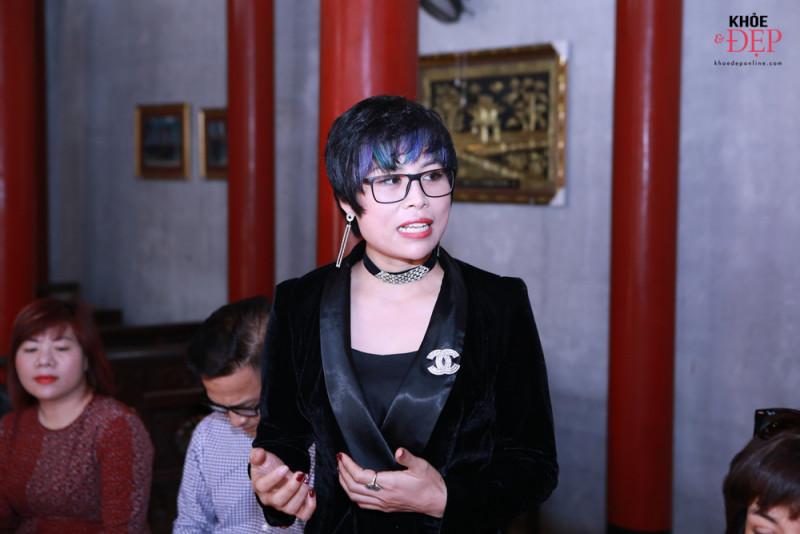 Họp mặt đầu xuân Liên hiệp các CLB ngành tóc Việt Nam và Hội nhà thiết kế, tạo mẫu tóc Hà Nội 11