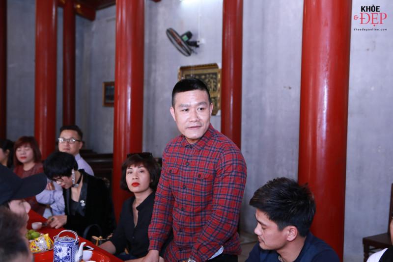 Họp mặt đầu xuân Liên hiệp các CLB ngành tóc Việt Nam và Hội nhà thiết kế, tạo mẫu tóc Hà Nội 10