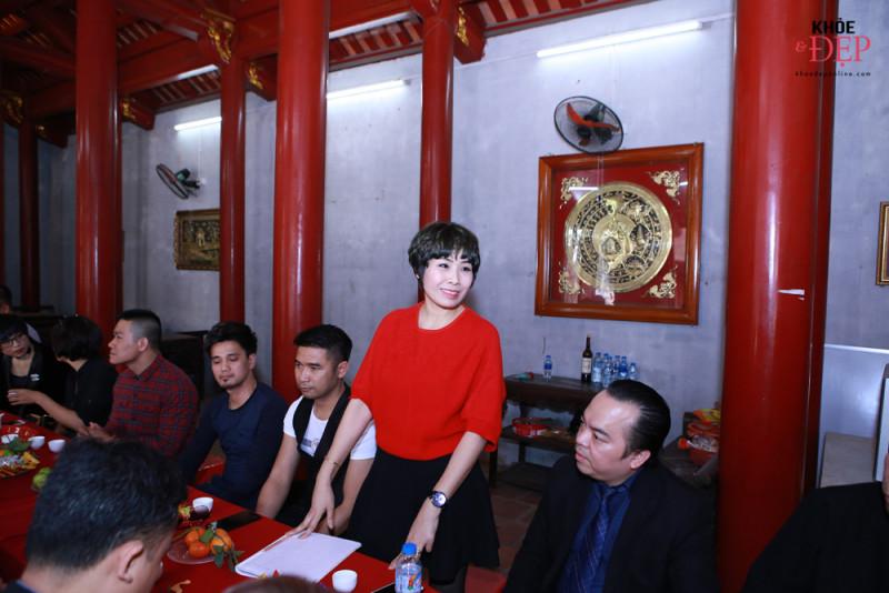 Họp mặt đầu xuân Liên hiệp các CLB ngành tóc Việt Nam và Hội nhà thiết kế, tạo mẫu tóc Hà Nội 8