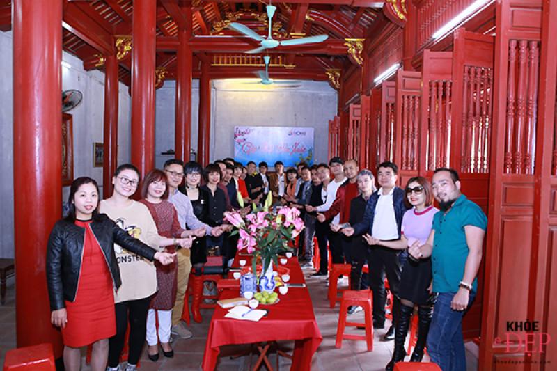 Họp mặt đầu xuân Liên hiệp các CLB ngành tóc Việt Nam và Hội nhà thiết kế, tạo mẫu tóc Hà Nội 3