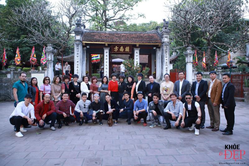 Họp mặt đầu xuân Liên hiệp các CLB ngành tóc Việt Nam và Hội nhà thiết kế, tạo mẫu tóc Hà Nội 0