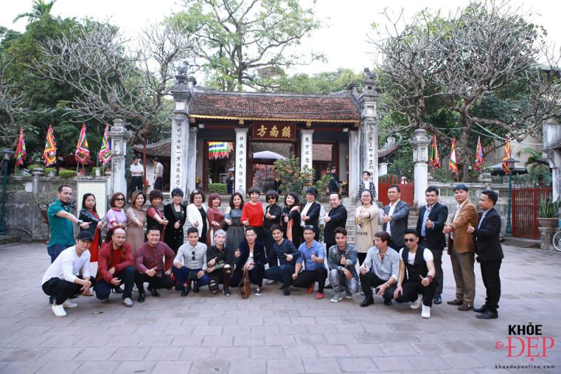 Họp mặt đầu xuân Liên hiệp các CLB ngành tóc Việt Nam và Hội nhà thiết kế, tạo mẫu tóc Hà Nội 1