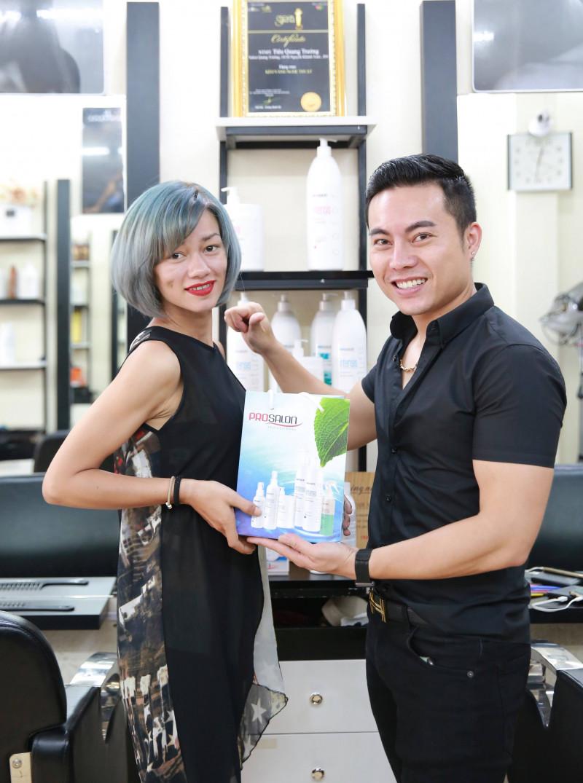 Hair Salon Quang Trường: Tâm – Tầm kết hợp, Thành Công tự đến 4
