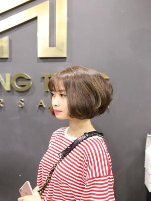 tóc bob ngắn