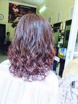 tóc dài  kiêu sa