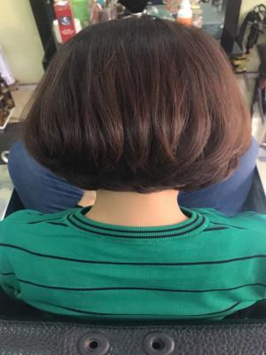tóc ngắn sang chảnh