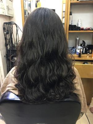 Tóc uốn xoăn dài lọn to