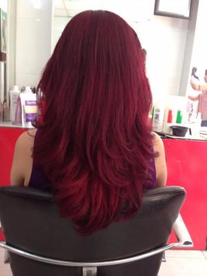 Nâu đỏ ánh hồng