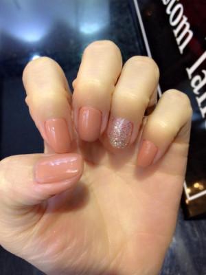 Màu Nude cho nail