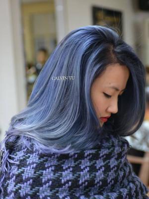 Tóc xanh dương