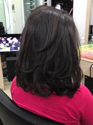 Tóc lỡ đen