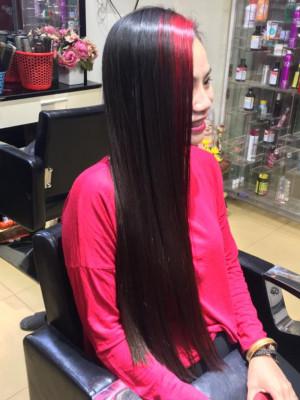 Tóc dài mái đỏ