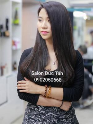 Tóc dài uốn cụp