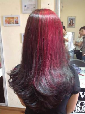 Light hồng đỏ cá tính
