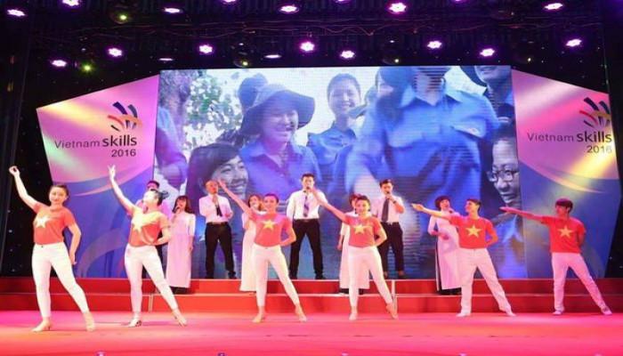 Bế mạc VietNam Skills 2016