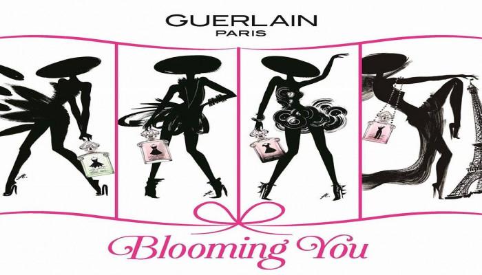 Chương trình trang điểm và khắc  tên nghệ thuật miễn phí từ Guerlain