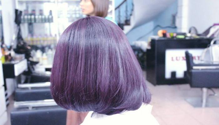 Nghịch chút sắc màu cho tóc thêm sinh động