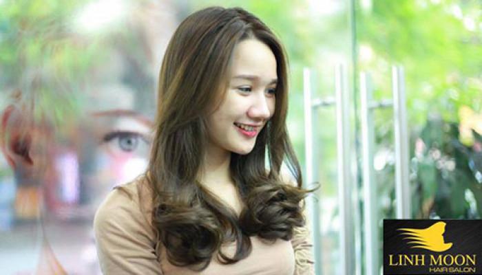 Tóc đẹp cùng Linh Moon 63 Nguyên Hồng