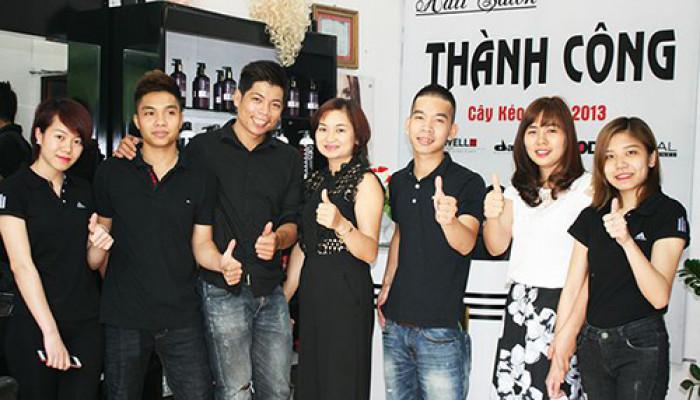 Tóc đẹp tri ân tại salon Thành Công