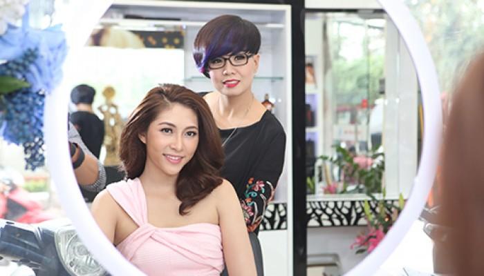 Tóc & Cuộc sống- Tóc đẹp cùng Hoa hậu biển Thu Thảo