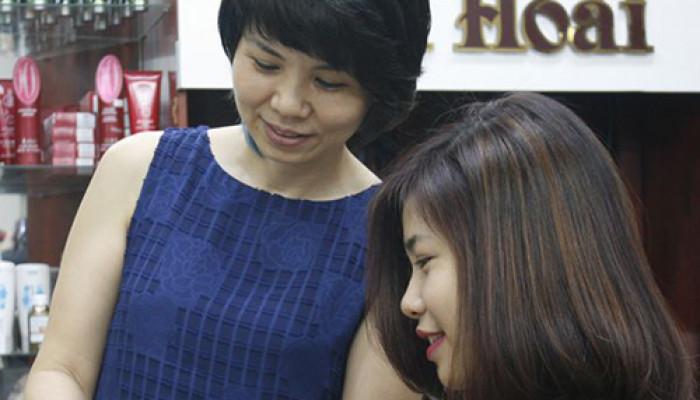 Trải nghiệm dịch vụ phục hồi tại hairsalon Thu Hoài