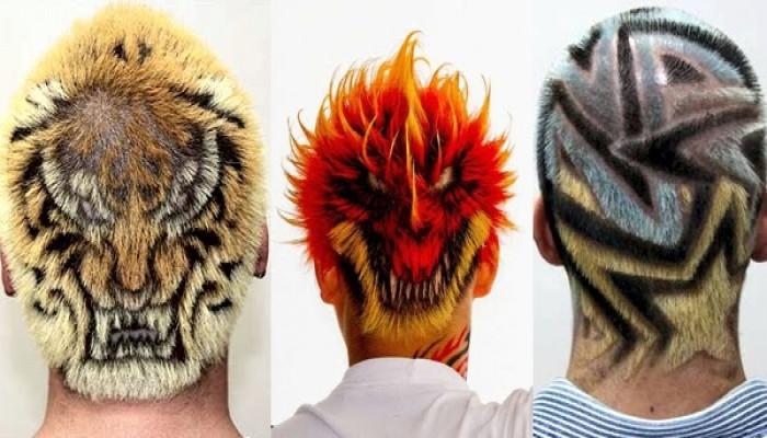 Xăm tóc kiểu Nhật