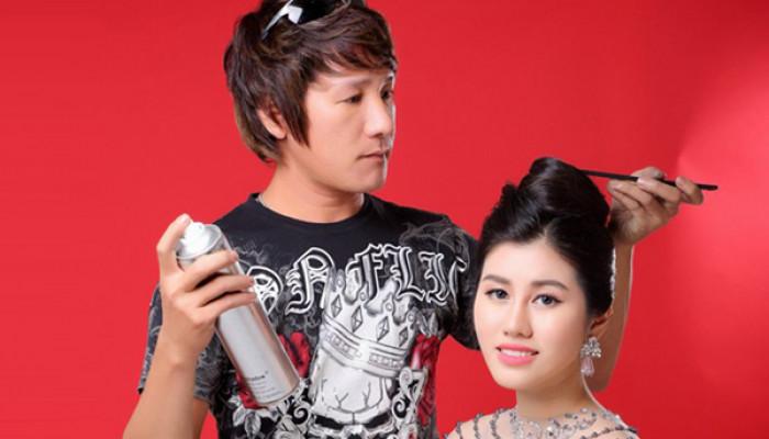 NTM tóc Hữu Lộc-Bản lĩnh nghiệp cầm kéo