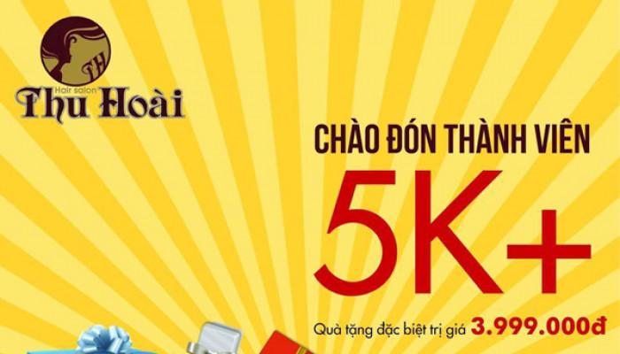 Quà tặng từ salon Thu Hoài - Voucher dịch vụ trị giá 3,999,000đ