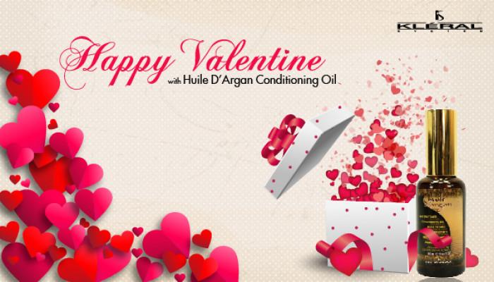 Tinh dầu dưỡng Huile D'Argan cho Valentine ngọt ngào