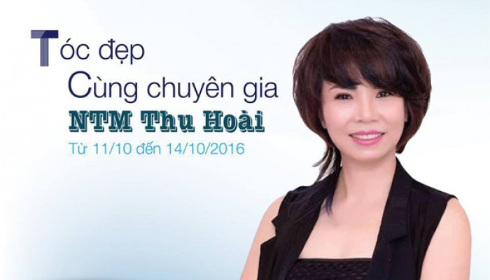 Tóc đẹp cùng chuyên gia NTMT Thu Hoài