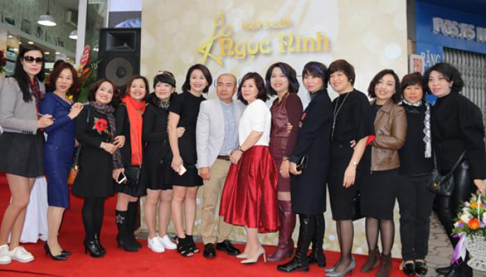 Hair salon Ngọc Ninh - khai trương ấm áp tình thân