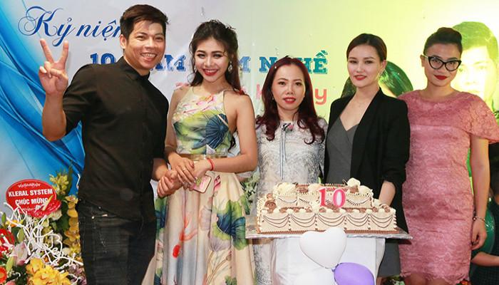 Khai trương Hairsalon Quyên Phạm- Thuận Kenny: sự kết hợp bền vững và phát triển